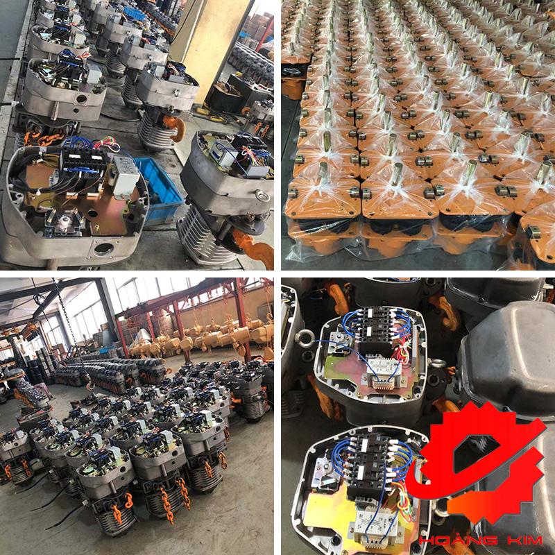 Pa lăng xích điện HKC